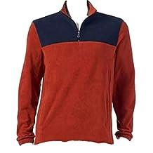 Men's Classic-Fit Arctic Fleece Quarter-Zip Pullover Jacket Sport