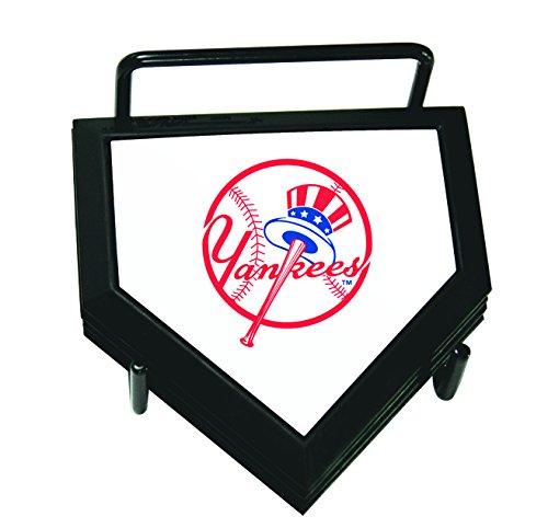 MLB New York Yankees Home Plate 4-pack Coaster Set