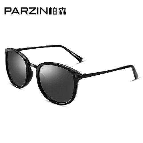 tendencias gafas cinéfilos Bright Gafas de película bastidor femenina Retro de pulido sol Black reflectante de polarizadas rosa púrpura conducción Komny masculina moda film espejo coloridos dXwOgxO