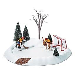 Department 56 Hockey Practice, Animated  S/3