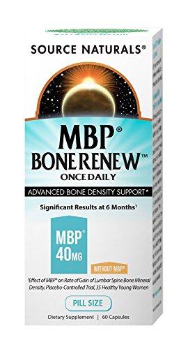 Source Naturals MBP Bone Renew, Advanced Bone Density Support, 60 Caps (Bone Density Support)