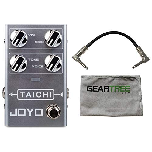 R02 Series - Joyo R Series R-02 Taichi Overdrive Pedal w/Geartree Cloth and Cable