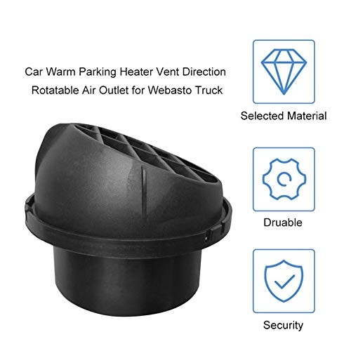 ouying1418 Car Warm Parking Heater Vent Direction Rotatable Air Outlet for Webasto Truck