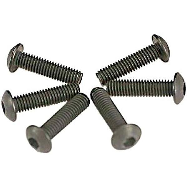 6 3x20mm Screws Button Head Hex TRA2580 Traxxas
