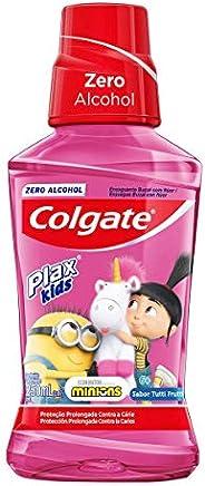 Enxaguatório Antisséptico 250 ml Kids Tutti-Frutti Unit, Plax, Branco