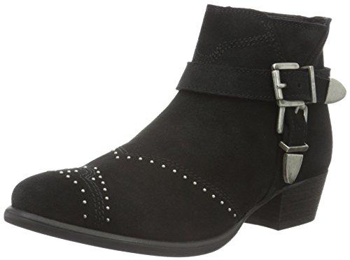 Belt N Schnoor Donna Sofie Stivali Rivet Boot black Nero Western EOTnnqw5W