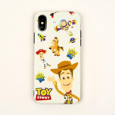Ultra Slim Soft TPU Toy Story 3 Case for Apple iPhone XR Disney Pixar Cartoon Buzz Lightyear Aliens Woody Jessie Bullseye Cute Chic Lovely Cool Fun Protective Girls Women Teens -