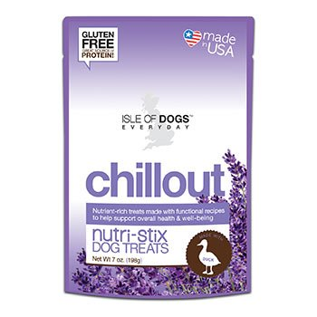 Isle of Dogs Natural Chillout Nutri-Stix for Dogs, 7 oz.