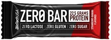 Biotech USA - Barrita Zero Bar - 50g - Chocolate con Caramelo ...