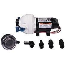 Flojet 2.9 GPM 50 PSI Water Pump w/ Flojet Inlet Strainer