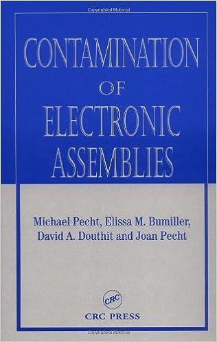 Téléchargement gratuit de livres électroniques en électronique Contamination of Electronic Assemblies (Electronic Packaging) 0849314836 in French PDF