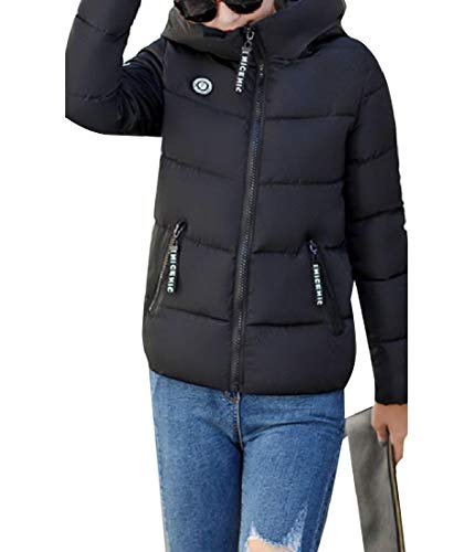 Slim Black Casual Winter Anorak Howme Classic Down Cotton Women Jacket Parka wOnTpFEx