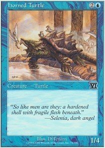 Magic: the Gathering - Horned Turtle - Sixth Edition