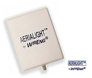 AeriaLight™ Ultra Wide Band 3G & 4G Outdoor External Single Antenna for Alaska Communications BandLuxe 4G LTE USB Modem