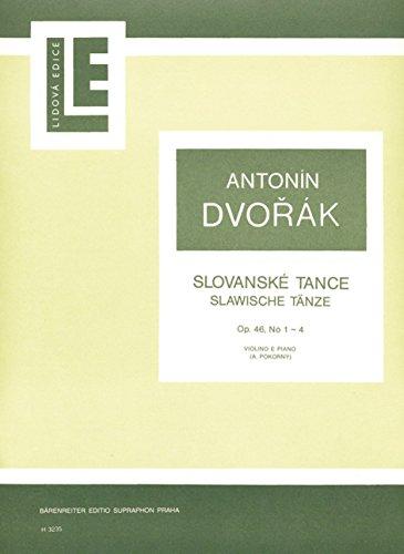 Dvořák: Slavonic Dances Nos. 1-4, Op. 46 (arr. Pokorný)
