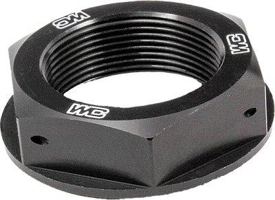 03-18 KTM 250SX: Works Connection Steering Stem Nut (BLACK) by Works Connection (Image #1)