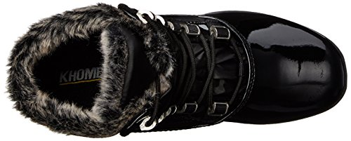Weather Black Cold Annie Khombu Combo Womens Patent KH Boot qwIFHYF