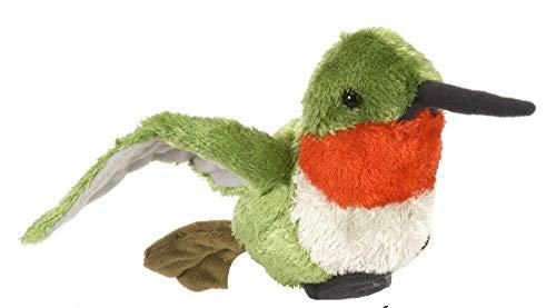 Wild Republic Hummingbird Plush, Stuffed Animal, Plush Toy, Gifts for Kids, Cuddlekins 8 - Plush Birds Republic Wild