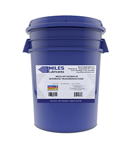 Miles ATF Automatic Transmission Fluid Dexron III 5 Gallon Pail