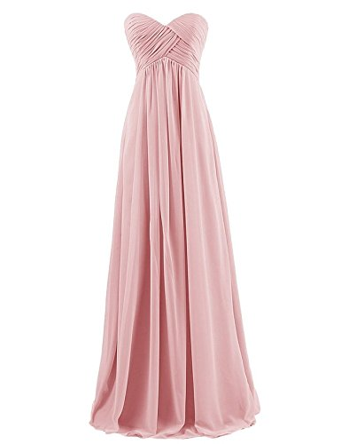 bridesmaid dresses by color pink - 3