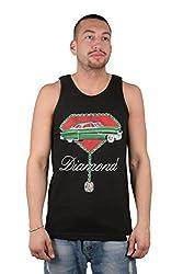 Diamond Supply Co Men's Caddy Tank Top-Black-M