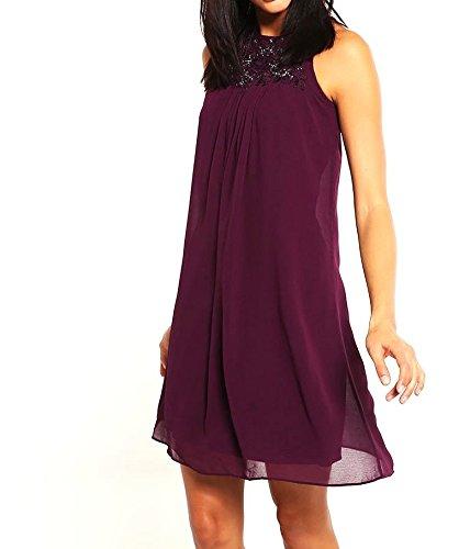 DOROTHY PERKINS SHOWCASE GEORGIA - Freizeitkleid - purple Gr. 38:  Amazon.de: Bekleidung