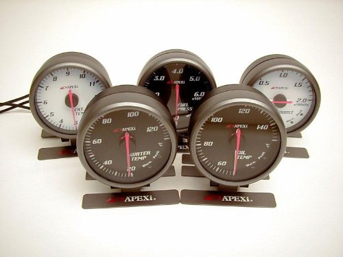 Apexi Boost Meter - APEXi 403-A976 E.L. II System Boost Meter
