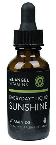 Mt. Angel Vitamins - Everyday Liquid Sunshine Drops, Supports Bone Health and Immune System Balance, 1 Fluid Ounce