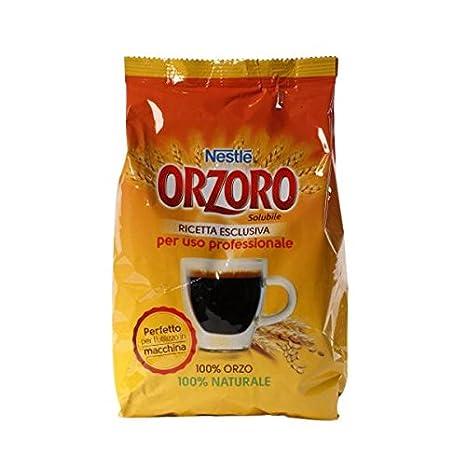Gr 200 Orzo soluble Nestle orzoro Instant Barley 100% Orzo Natural para cafeteras de