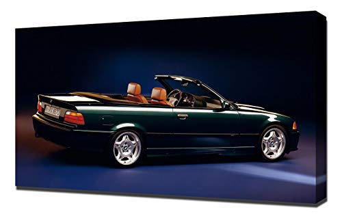 (Lilarama USA 1994-BMW-M3-Cabrio-V3 Canvas Art Print - Wall Art - Canvas Wrap )