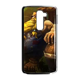 LG G2 Cell Phone Case Black League of Legends Hillbilly Gragas UVW0588111