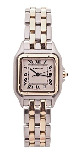 Cartier Panthere analog-quartz white womens Watch W25028B6 (Certified Pre-owned)
