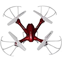 Owill DisoC10 2.4GHz 4CH 6 Axis Gyro RC Quadcopter Childrens Remote Control Toys/Anti Impact Design (Red)