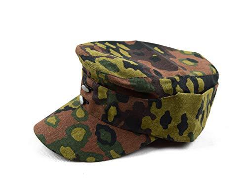 szwykw Replica WWII WW2 German Oak Spring Leaf hat Camo Cap (59cm)]()