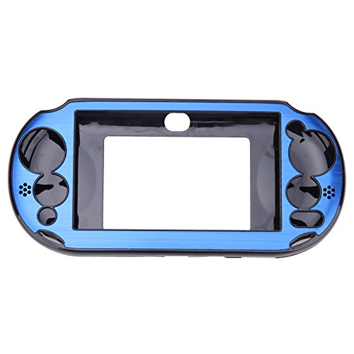 Aluminum Skin Case Cover Shell for Sony PS Vita 2000(Navy Blue) - 1