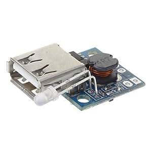 FJAMEI@ DC a DC Módulo PCB Boost for Mobile cargador de alimentación - Azul