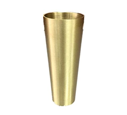 Amazon.com: Furniture legs, Brass Support Tapered Foot Cover ...