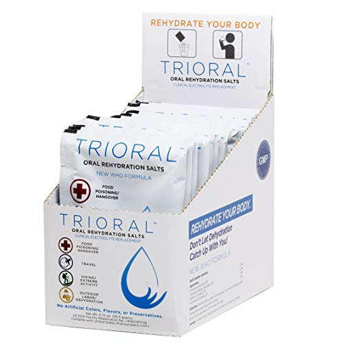 0 TRIORAL Rehydration Organization Electrolyte Replacement
