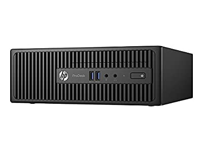 HP W5Z16UT ProDesk 400 G3 - SFF - 1 x Core i5 6500 / 3.2 GHz - RAM 4 GB - HDD 500 GB - DVD SuperMulti - HD Graphics 530 - GigE -