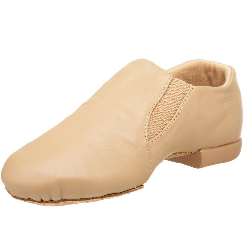 Big Caramel Kid Shoe Jazz Little Dance W Kid Tan Class Nude Leather Gore Jb600 E4qqxwSHv
