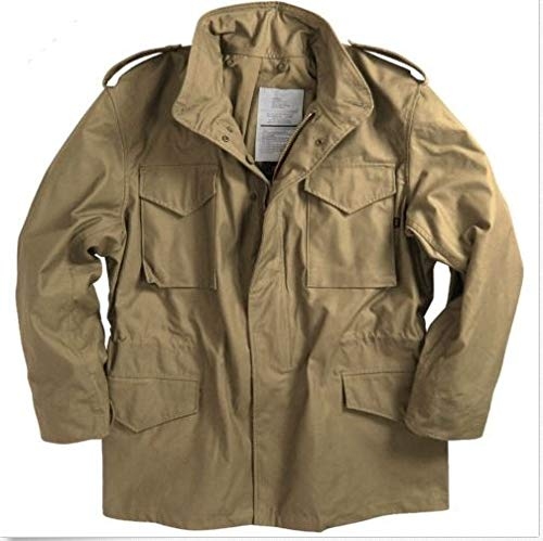 (Alpha Industries Men M-43 Field Coat Khaki (L))