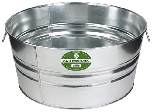 Dover Parkersburg DP3GS Steel Tub, 17-Gallon,
