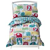 4 Piece Bold Animals Toddler Bedding Set by Sumersault