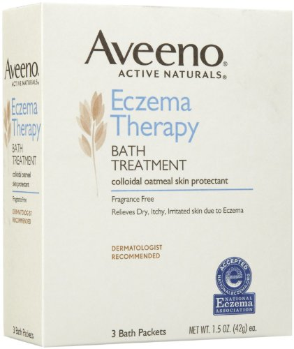 Aveeno eczéma thérapie traitement Bath