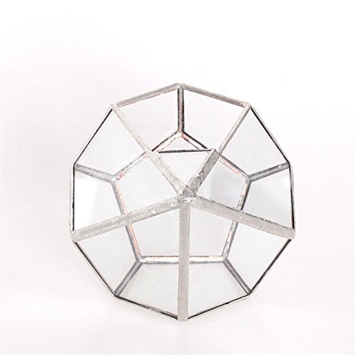 53-inches-Silver-Handmade-Wall-Hanging-Geometric-Glass-Terrarium-Window-Sill-Balcony-Succulent-plants-Planter-Small-Indoor-Decoration-Flower-Pot-Vase-Centerpiece-for-Wedding-Coffee-Table-No-Plants