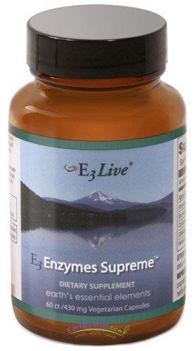 E3Live E3 enzimas Supreme (60 cápsulas): Amazon.es: Salud y ...