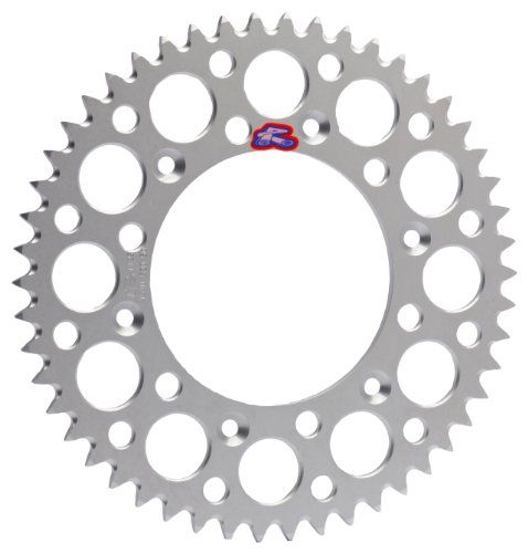Renthal 189U-420-57GRSI Ultralight Silver 57 Tooth Rear Sprocket (Aluminium Motorrad)
