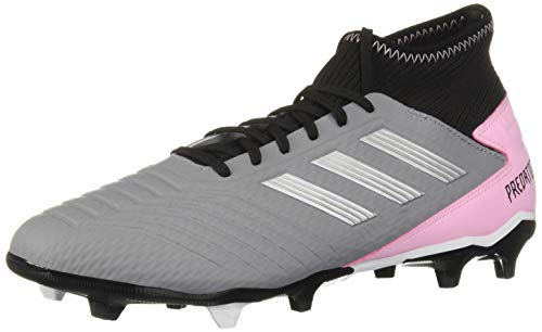 adidas Predator 19.3 Firm Ground, Grey/Silver Metallic/Black 8.5 M US ()
