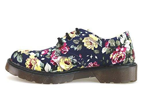 mujer elegantes PIGALLE zapatos textil para AM780 MADAME multicolor zZ4aW