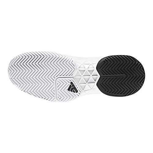 Adidas Heren Barricade Boost 2018 Tennisschoen Wit / Kern Zwart / Wit